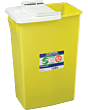 Sharpsafety Chemotherapy Waste Container 18 Gallon, Yellow Part No. 8989 (5/case)