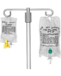 Chemoplus Iva Seal For Baxter's Viaflex And Mini-bag Plus Container Iv Bag, Green Part No. Cp3011g (1000/box)