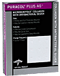 Puracol Plus Ag Collagen Antimicrobial Silver Dressing 4-1/4