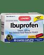 Leader Ibuprofen Caplets, 200 Mg (50 Count) Part No. 1783547 (1/ea)