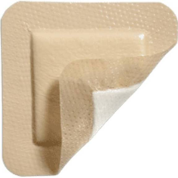 "Mepilex Border Lite Thin Foam Dressing 3"" X 3"" Part No. 281200 (1/ea)"