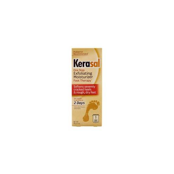 Kerasal Exfoliating Foot Moisturizer Ointment, 30 G Part No. 80-2601 (1/ea)