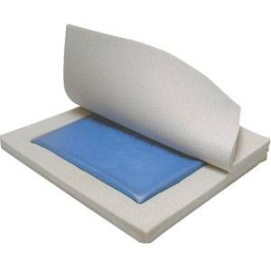 "Skin Protection Gel ""E"" 3"" Wheelchair Seat Cushion, 18"" x 16"" x 3"" Part No. 14886 Qty 1"