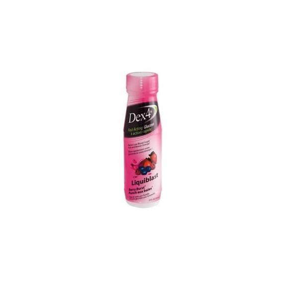Dex 4 Glucose Liquid Berry Twist 2 oz. Part No. PD51079 Qty  Per Box