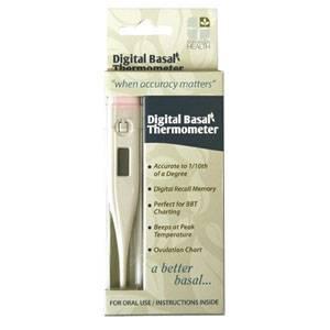Digital Basal Thermometer Part No. 00073 Qty 1