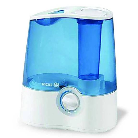 Vicks Healthmist Ultrasonic Humidifier, 1-1/5 gal Part No. V5100NS Qty 1