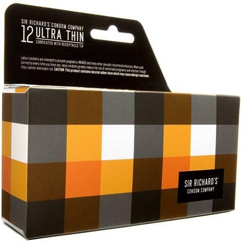 Sir Richard's Ultra Thin Condoms Part No. 119454 Qty  Per Box