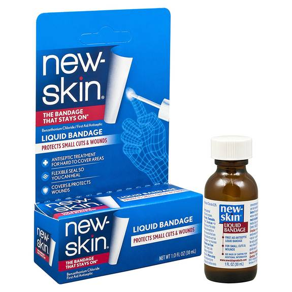 New-skin Liquid Bandage Original, 1 Oz. Part No. 80-4401 (1/ea)