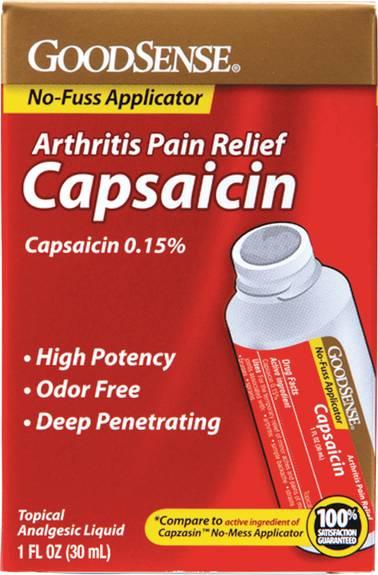 Capsaicin Arthritis Pain Relief Roll-On, 1 oz. (1/EA)