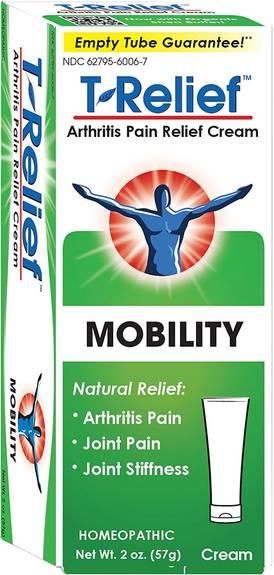 T-Relief Zeel - Arthritic Pain - Osteoarthritis - Joint Stiffness - 2 oz