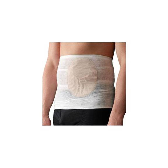 "StomaSafe Classic Ostomy Support Garment, Large, 41-1/2"" - 51"" Hip Circumference, White Part No. 50000501 Qty  Per Package"