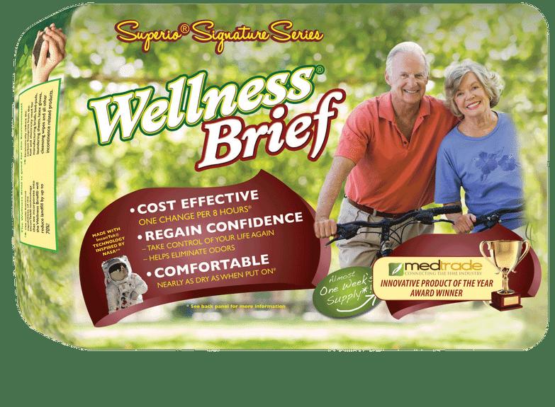 "Wellness Briefs Superio Series, Large 36"" - 46"" Part No. 2142 Qty  Per Case"