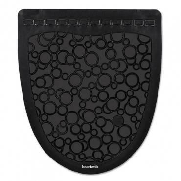 Urinal Mat 2.0, Rubber, 17.5 X 20, Black/black, 6/carton