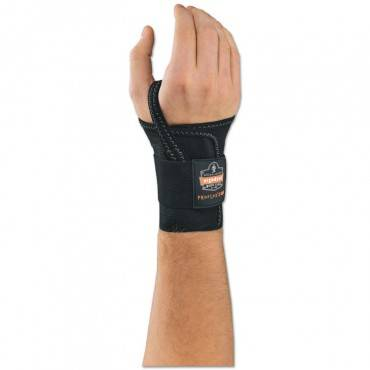 "Proflex 4000 Wrist Support, Left-hand, Xl (8""+), Black"