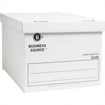 Business Source Quick Setup Medium-Duty Storage Box (CA/CASE)