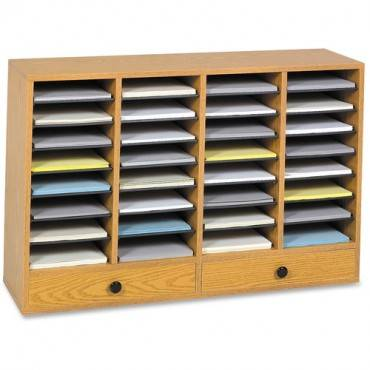 Safco Adjustable Compartment Literature Organizers (EA/EACH)