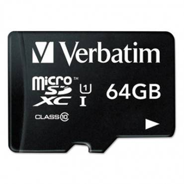 64gb Premium Microsdxc Memory Card With Adapter, Uhs-i V10 U1 Class 10