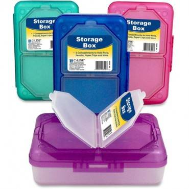 C-Line Products Storage Box, Assorted, 1 Box (Color May Vary) (EA/EACH)