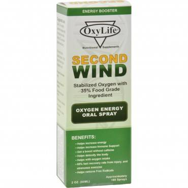 Oxylife Products - Oxylife Second Wind O2 Mn - 1 Each - 2 Oz