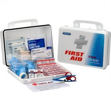 First Aid Only 25 Person Office First Aid Kit, 135 Pieces, Plastic Case (EA/EACH)