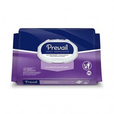 "Prevail Premium Cotton Washcloth Soft Pak 12"" X 8"" Part No. Ww-910 (576/case)"