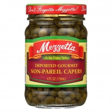 Mezzetta Non - Pareil Capers - Case Of 12 - 4 Oz.