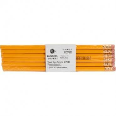 Business Source Woodcase No. 2 Pencils (DZ/DOZEN)