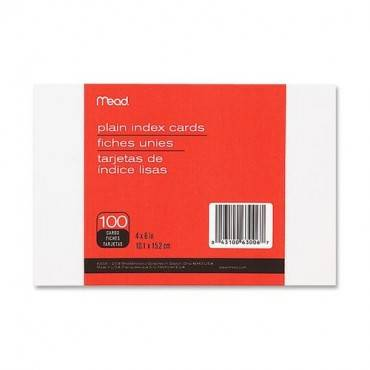 Mead Printable Index Card (PK/PACKAGE)