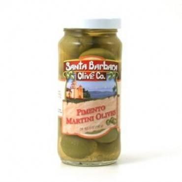 Santa Barbara Olives - Martini Style - Case Of 6 - 5 Oz.