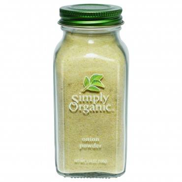 Simply Organic Onion - Organic - Powder - White - 3 Oz