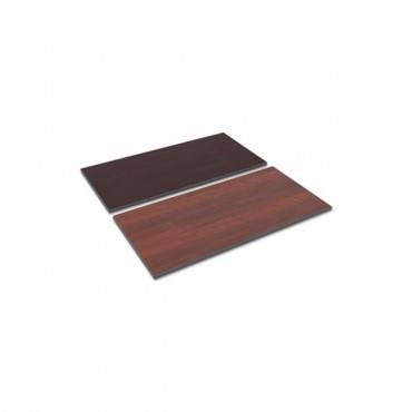 Reversible Laminate Table Top, Rectangular, 47 5/8 X 23 5/8, Med Cherry/mahogany