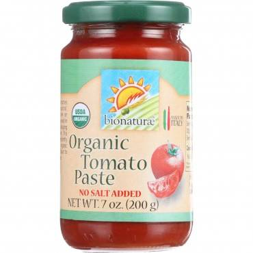 Bionaturae Tomato Paste - Organic - 7 Oz - Case Of 12