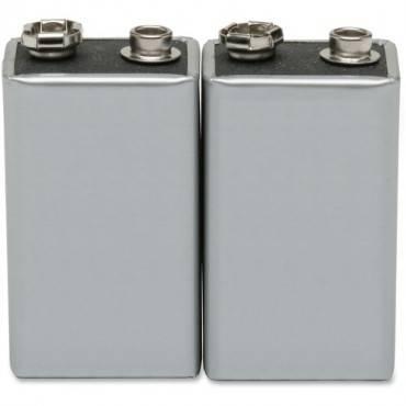 SKILCRAFT 9-volt Alkaline Batteries (PK/PACKAGE)