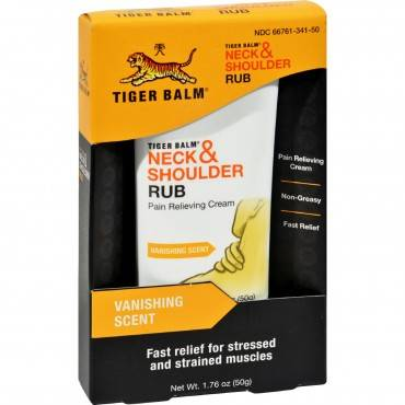 Tiger Balm Neck And Shoulder Rub - 1.76 Oz
