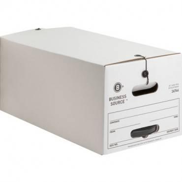 Business Source Medium Duty Letter Size Storage Box (CA/CASE)