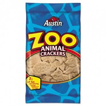 Zoo Animal Crackers, Original, 2oz Pack, 80/carton