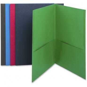 Business Source Two-Pocket Folders (BX/BOX)