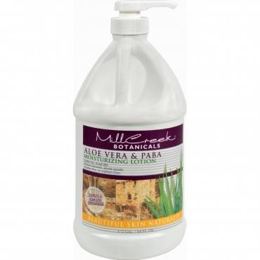 Mill Creek Botanicals Aloe Vera and PABA Moisturizing Lotion - 64 fl oz