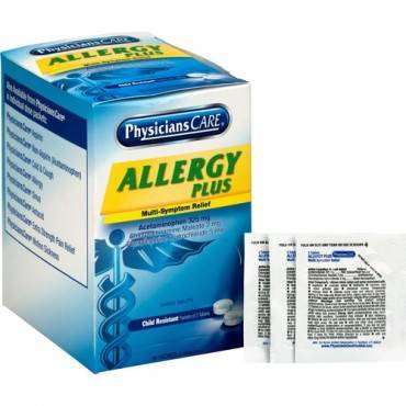 PhysiciansCare Allergy Plus Medication (BX/BOX)