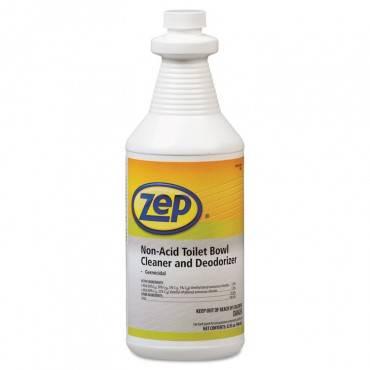 Toilet Bowl Cleaner, Non-acid, Quart Bottle, 12/carton