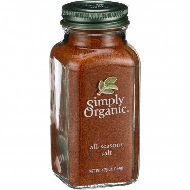 Simply Organic All Seasons Salt - Organic - 4.73 Oz