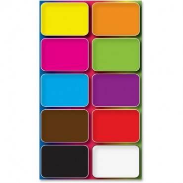 Ashley Colors Design Mini Whiteboard Eraser (PK/PACKAGE)