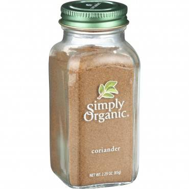 Simply Organic Coriander Seed - Organic - Ground - 2.29 Oz
