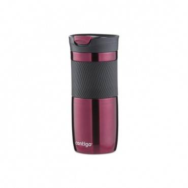 Byron Snapseal Stainless Steel Travel Mug, 16 Oz, Vivacious