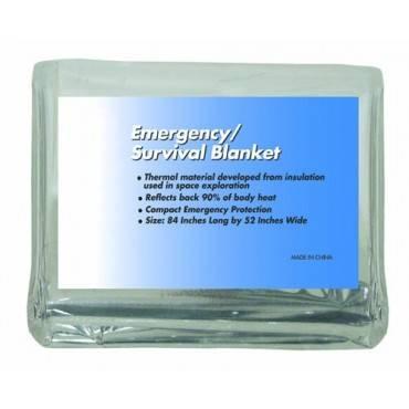 Dynarex  Emergency/Survival Rescue Foil Blanket 84 X52 Part No.3537