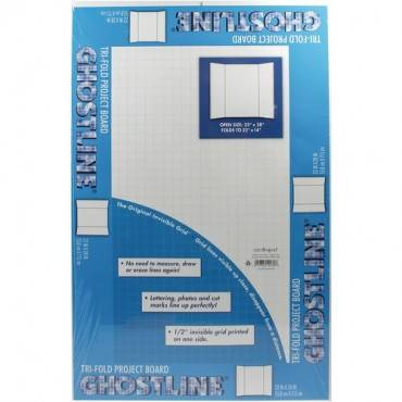 Ghostline Tri-Fold Foam Board (CA/CASE)