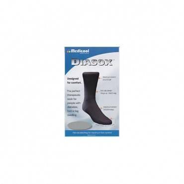 Diasox Seam-free Sock, X-large, Black Part No. Disb-xlarge (1/ea)