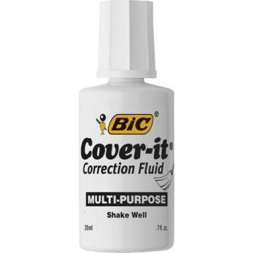 BIC Cover-it Correction Fluid (EA/EACH)
