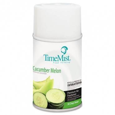 Premium Metered Air Freshener Refill, Cucumber Melon, 5.3 Oz Aerosol, 12/carton