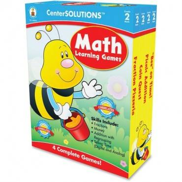CenterSOLUTIONS Grade 2 CenterSolutions Math Learning Games (EA/EACH)